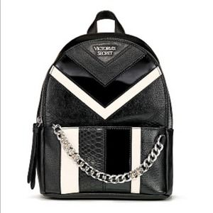 VICTORIA'S SECRET Mixed Chevron Small Backpack